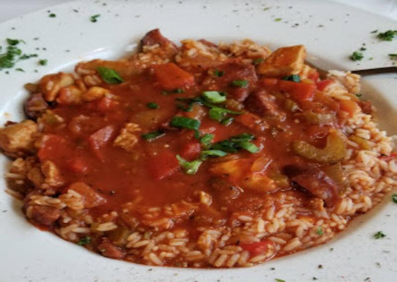 Stuffed Pork Chops- Broussard's Delta Kitchen - Creole Dining, Georgetown Kentucky